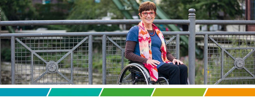 Renate Falk ist eine unserer Beraterinnen und lebt schon seit vielen Jahren mit MS