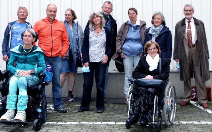 Der Vorstand der DMSG Wuppertal